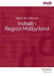 Indkøb i Region Midtjylland