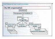 Ny EPJ organisation