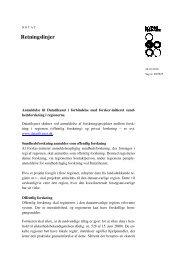 Danske Regioners retningslinjer for anmeldelse af ...