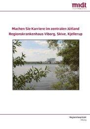 Machen Sie Karriere im zentralen Jütland Regionskrankenhaus ...