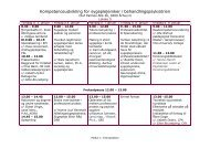 Kompetenceudvikling for sygeplejersker i behandlingspsykiatrien