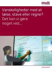 Vanskeligheder med at læse, stave eller regne? - Region Midtjylland