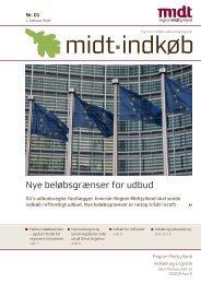 Nye beløbsgrænser for udbud - Region Midtjylland