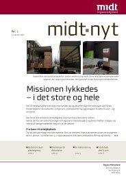 Artikel fra midt-nyt med dilemmaer i akutdebatten - Region Midtjylland