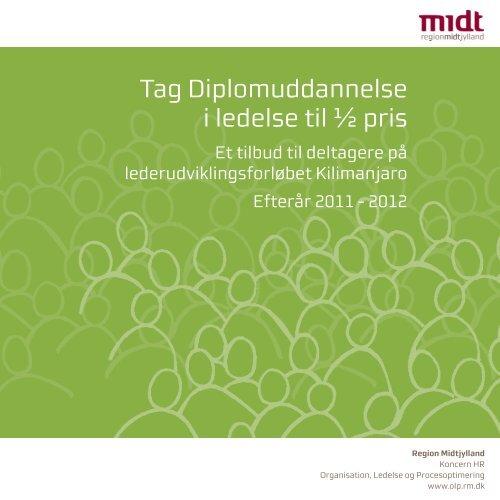 Læs mere om uddannelsen her - Region Midtjylland