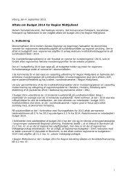 1 Aftale om Budget 2014 for Region Midtjylland - Danske Regioner
