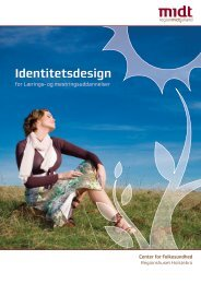 Identitetsdesign - Region Midtjylland