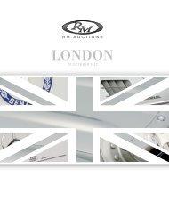 LONDON - RM Auctions