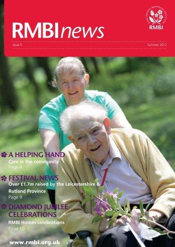 RMBI News - Issue 5. Summer 2012 - Royal Masonic Benevolent ...