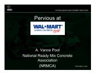 The Use of Pervious Concrete at Wal-Mart - RMC Research ...