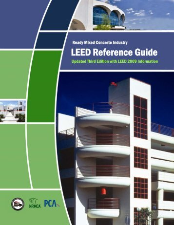 Ready Mixed Concrete Industry LEED Reference Guide