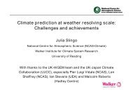 Climate prediction at weather resolving scale: Challenges and ...