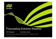 Forecasting Extreme Weather - Royal Meteorological Society