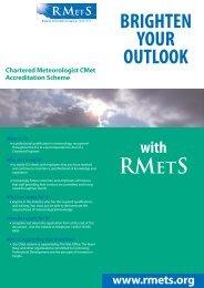CMet - Royal Meteorological Society