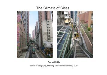 The Climate of Cities