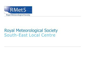 Royal Meteorological Society SE Centre - Photography competition ...