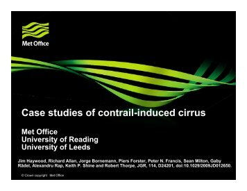 Case studies of contrail-induced cirrus