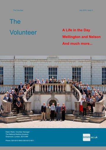 New look volunteer newsletter july 10.pub - National Maritime Museum