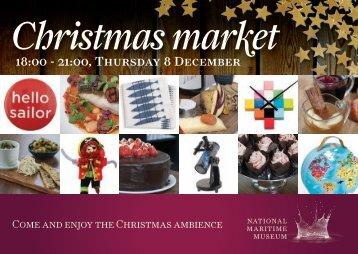 Christmas market - National Maritime Museum