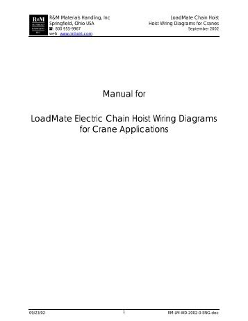 manual for loadmate hoist wiring diagrams for crane applications?quality\=85 yale hoist wiring diagram yale forklift fuse box diagram, schlage yale hoist wiring diagram at readyjetset.co