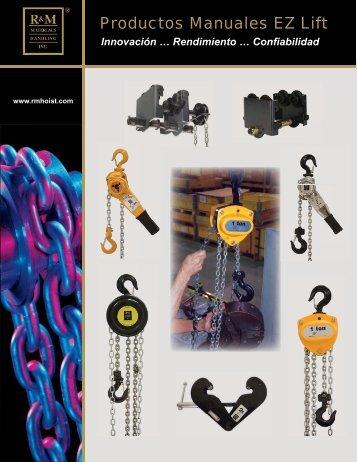 Productos Manuales EZ Lift.pdf - R&M Materials Handling equipment