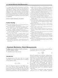 Quantum Mechanics: Weak Measurements