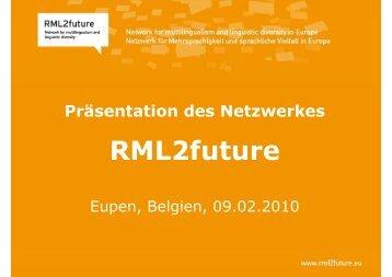 Netzwerkpraesentation - rml2future