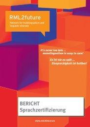 BERICHT - rml2future