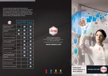 Brochure logiciels R-M - RM Paint