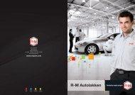 Brochure over R-M Autolakken - RM Paint