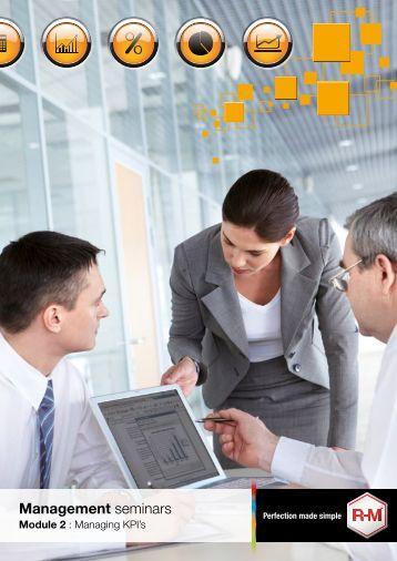 Module 2 : Managing KPI's - RM Paint