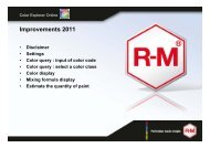 2011 Guide - RM Paint