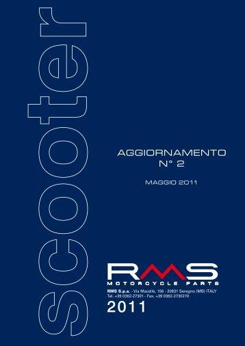 Catalogo Scooter 2011 - RMS