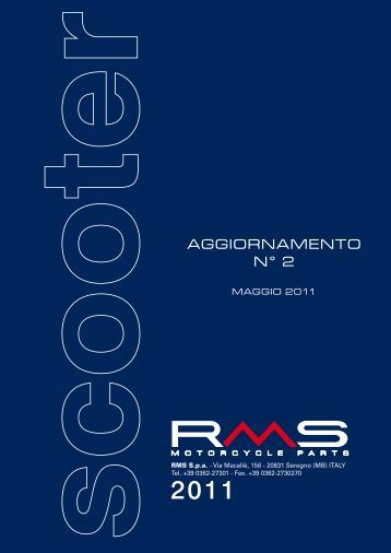 Catalogo Scooter 2011 - RMS