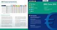 RMV-Preisliste 2014 (PDF, 474 KB)