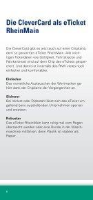 CleverCard-Broschüre Landkreise Gießen, Vogelsberg und Wetterau - Seite 6