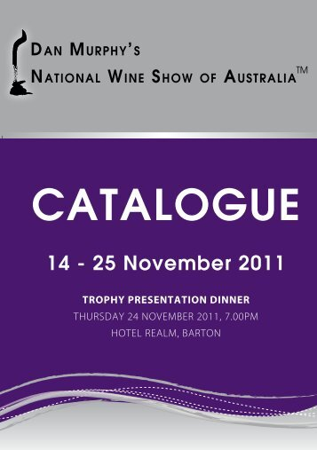 2011 Catalogue of Results - Royal National Capital Agricultural ...