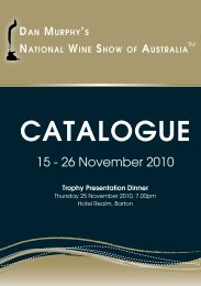 2010 Catalogue of Results - Royal National Capital Agricultural ...