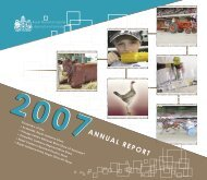 2007 Annual Report - Royal National Capital Agricultural Society