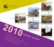 2010 Annual Report - Royal National Capital Agricultural Society
