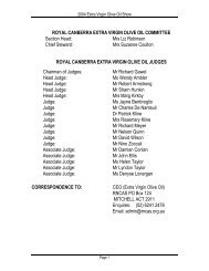 2004 Results - Royal National Capital Agricultural Society