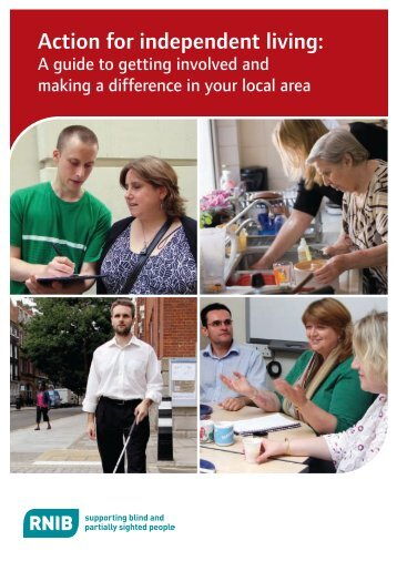 Action for independent living - RNIB
