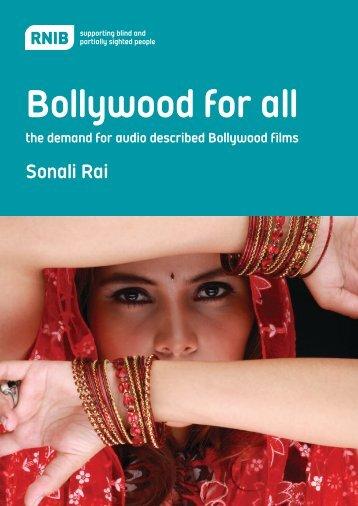 Bollywood for all Full report (PDF, 1116KB) - RNIB