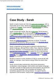 Case Study - Sarah - RNIB