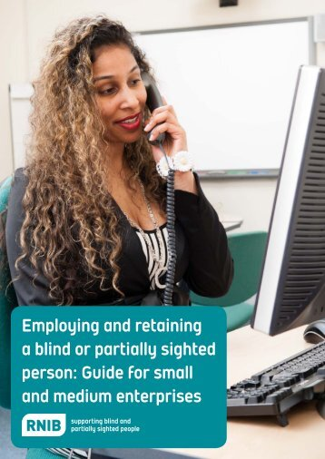 Guide for small and medium enterprises - RNIB