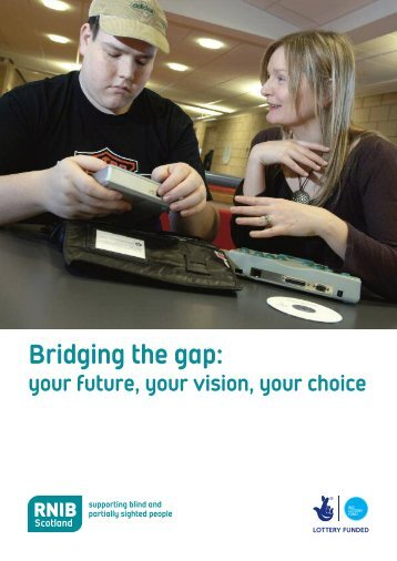 Bridging the Gap (PDF, 524KB) - RNIB