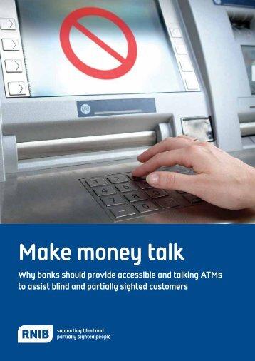 Make Money Talk (PDF) - RNIB