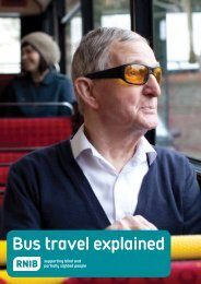 Bus travel explained - a guide to using buses (PDF 563KB) - RNIB