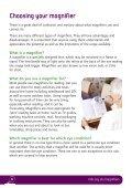 Magnification guide (PDF, 1.7mb) - RNIB - Page 6