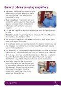 Magnification guide (PDF, 1.7mb) - RNIB - Page 7